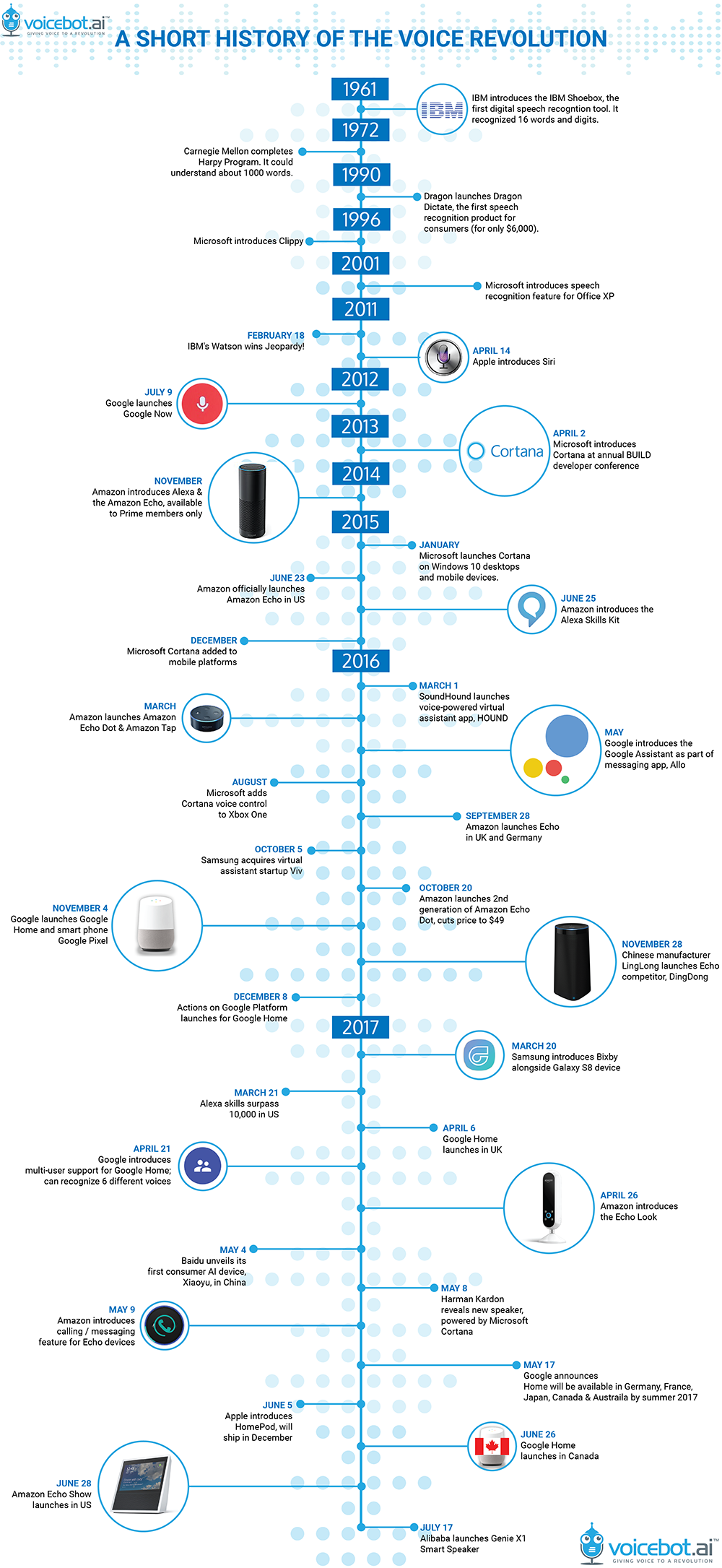 revolution of voice search infographic